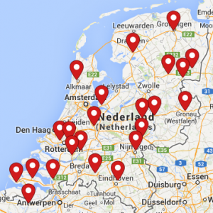 Overzicht vergaderlocaties ADD Business Point